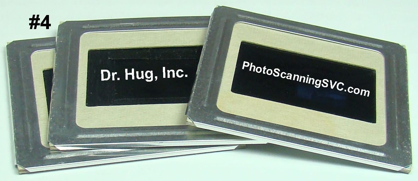 2x2 Photo Slide with Additional Metal Mount
